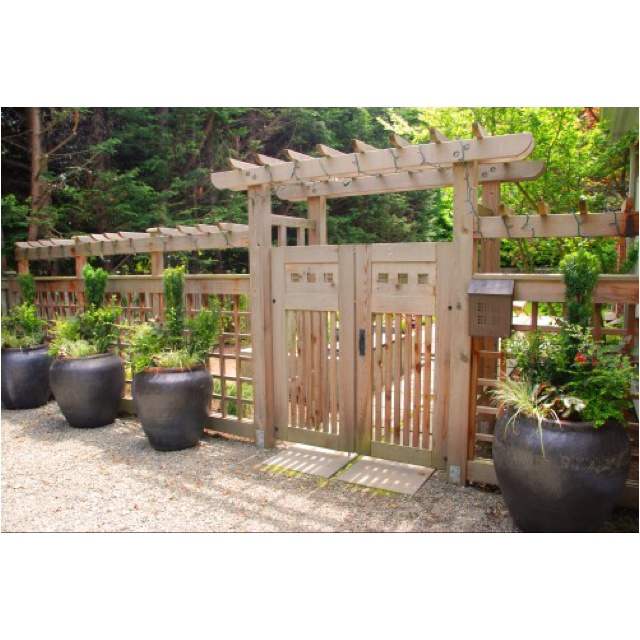 Arbor Over Gate Ideas: 126 Best Images About Fences Arbors And Gates On Pinterest