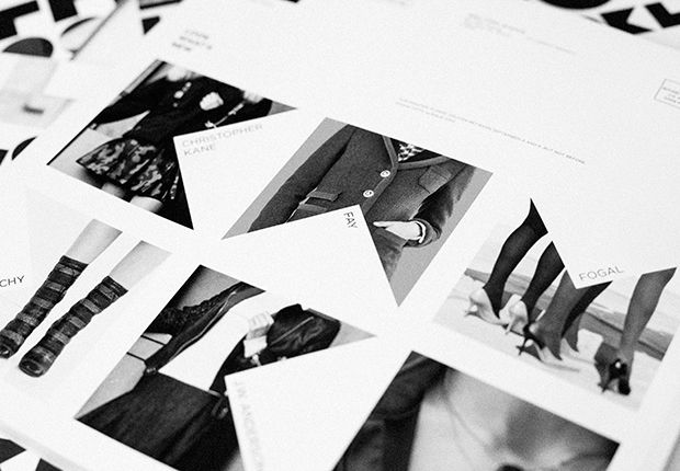 Look - A catalog layout places images in letterforms for a closer look - #Pentagram