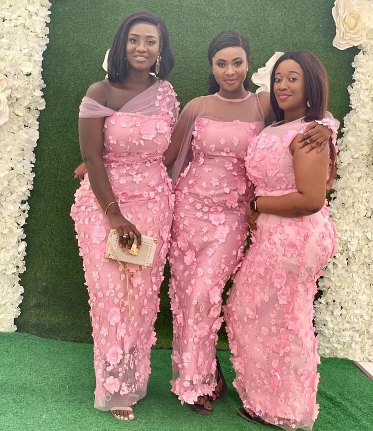 Pink aso ebi dress for your events choose the best for you
