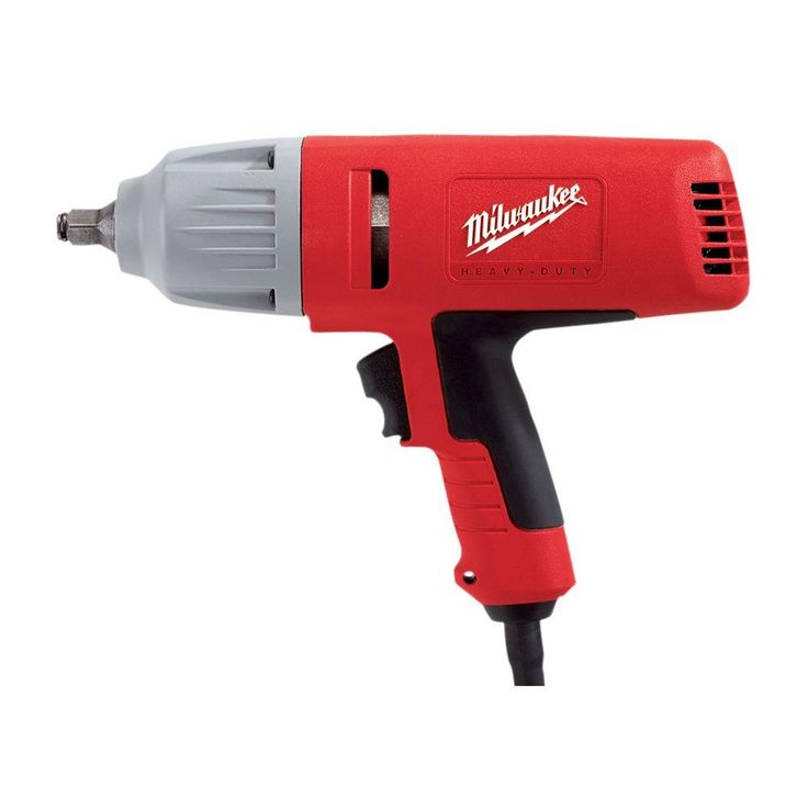 Milwaukee 1/2 in. Square Drive Impact Wrench with Rocker Switch and Friction Ring Socket Retention
