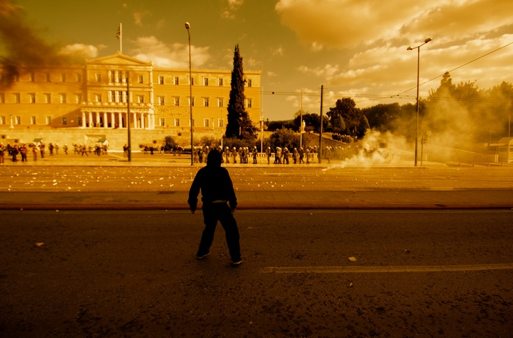 Riot in Athens, December 2008