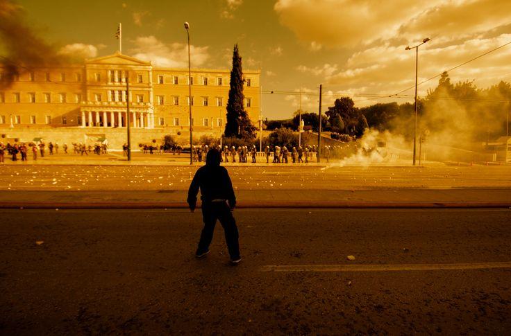 Riot in Athens, December 2008