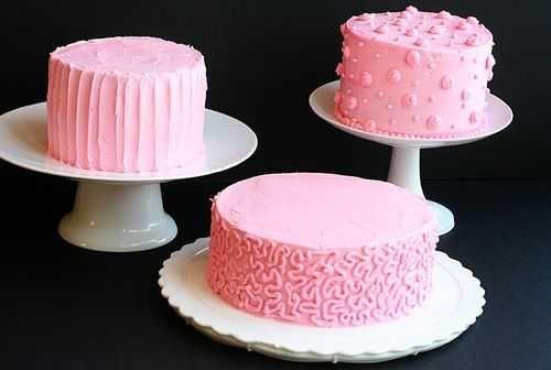 Frosting TutorialsCakedecorating, Decor Ideas, Frostings Recipe, Cake Frosting, Decorating Ideas, Decor Cake, Buttercream Frosting, Cake Decorating, Pink Cake
