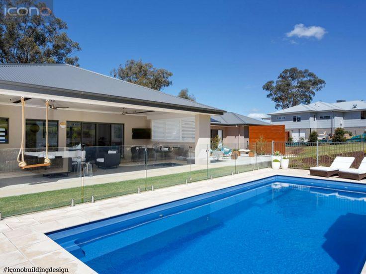 Summer ready!! #pool #outdoor #living #iconobuildingdesign #summer #style #australian  #family #home