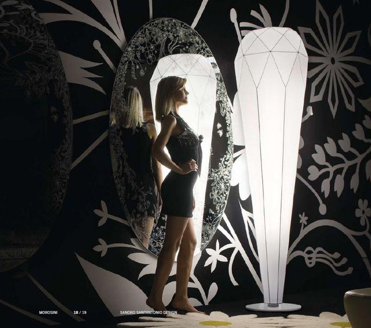 #Diamond TE floor lamp by #Morosini