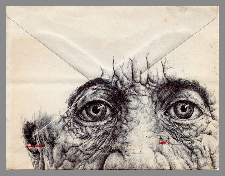 Portraits on Envelopes by Mark Powell©   Most people keep to traditional way of…