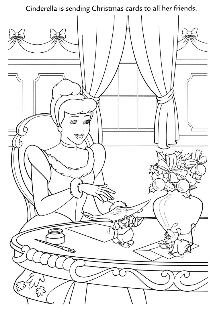 166 best disney cinderella coloring pages disney images on