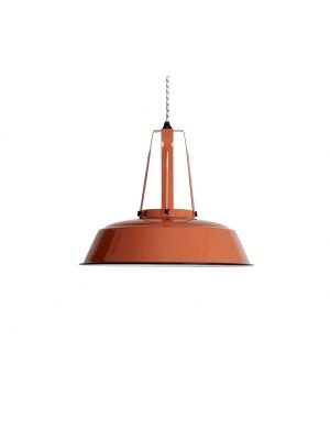Industriële lamp koraal (L: Koraal)