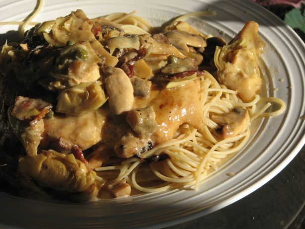 Make and share this Romano's Macaroni Grill Chicken Scaloppine recipe from Food.com.