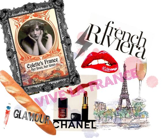 Vive La France. Created  by PB using @Polyvore. #France #Fashion #design #chanel