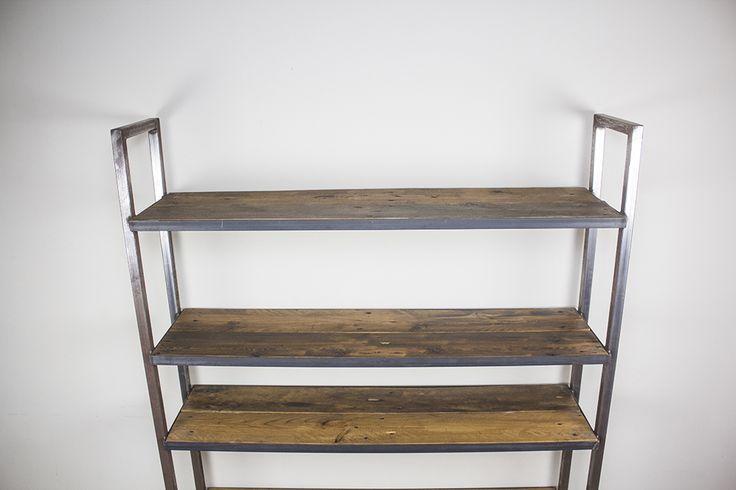 hierro y madera reciclada palets europeos muebles rústicos madera