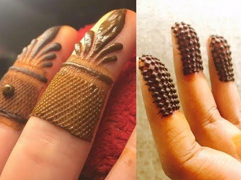 learn important technique to improve your henna mehendi art - YouTube