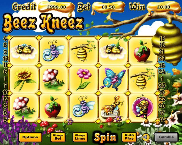 Beez Kneez - http://www.automaty-ruleta-zdarma.com/beez-kneez-automat-online-zdarma/