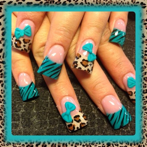 Teal And Leopard by Oli123