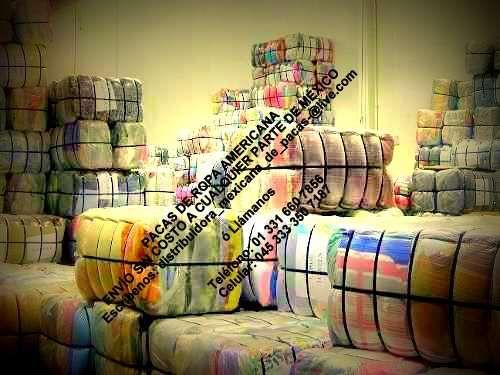Venta de pacas de ropa americana!!!