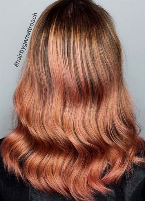 17 Best Ideas About Copper Gold Hair On Pinterest