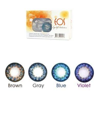 Пусть ваши летние дни будут такие же яркие, как цветные линзы EOS.  Яркая новинка в нашем салоне!!! Эффект увеличивания глаз. В наличии все цвета!!! Цена - 900 сом за пару.
