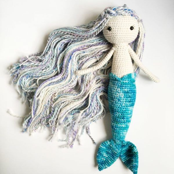 16 best mermaids images on Pinterest | Mermaids, Crochet dolls and ...