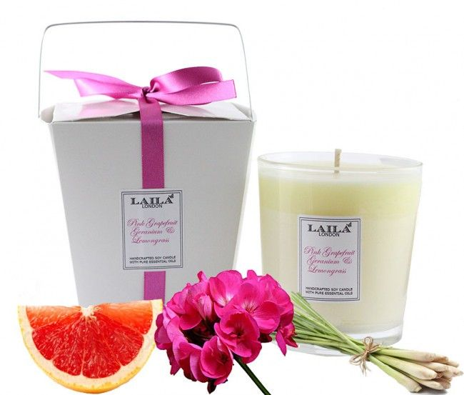 Laila London pink grapefruit & lemongrass