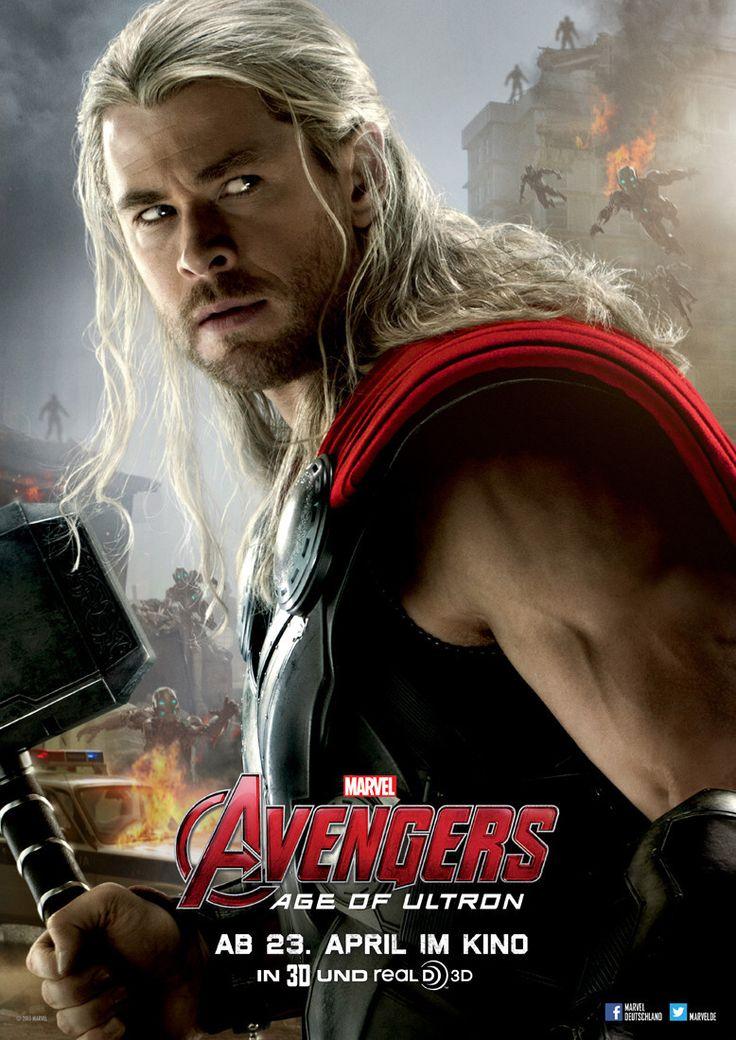 Avengers - Age Of Ultron - Marvel - Thor (Chris Hemsworth) - kulturmaterial