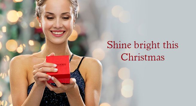 Shine bright this Christmas with a gift from Rosendorff Magazine Advertisement 2015
