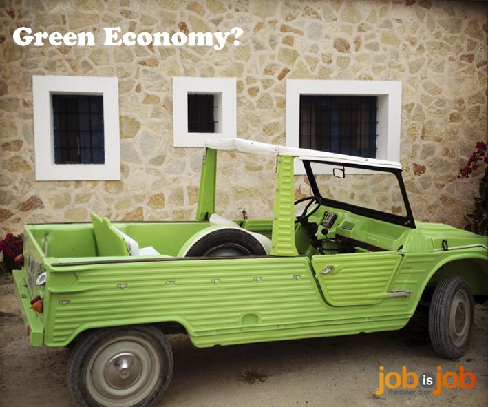 Sustainable jobs in the green economy.