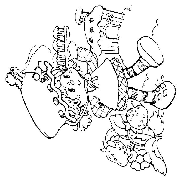 strawberry shortcake coloring pages 002gif