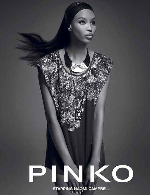 Snapshot: Naomi Campbell by Daniele Duella and Iango Henzi for Pinko Fall 2012
