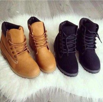 shoes black timberlands boots