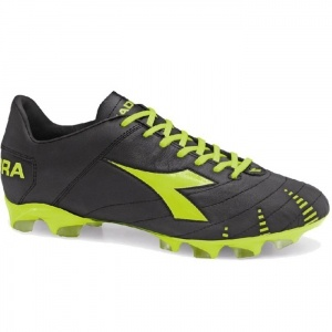 SALE - Diadora Evoluzione K BX 14 Soccer Cleats Mens Black Leather - Was $129.99 - SAVE $30.00. BUY Now - ONLY $99.99