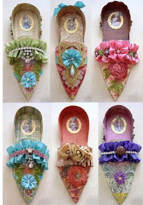Designs By Terri Gordon: MARIE ANTOINETTE SHOES THAT I MADE