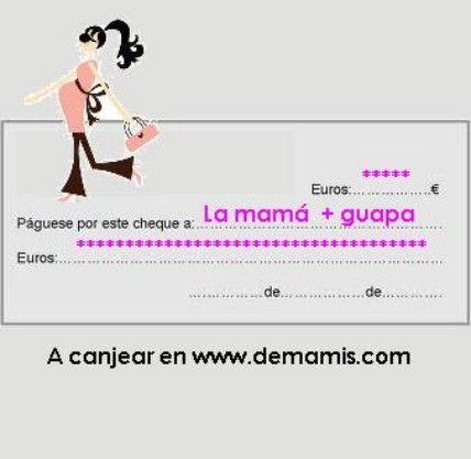 VALE REGALO 10 € [GIFT-10] - 10,00€ : Tienda premamá online. Moda prenatal para embarazadas y ropa interior para embarazo y lactancia., Demamis.com