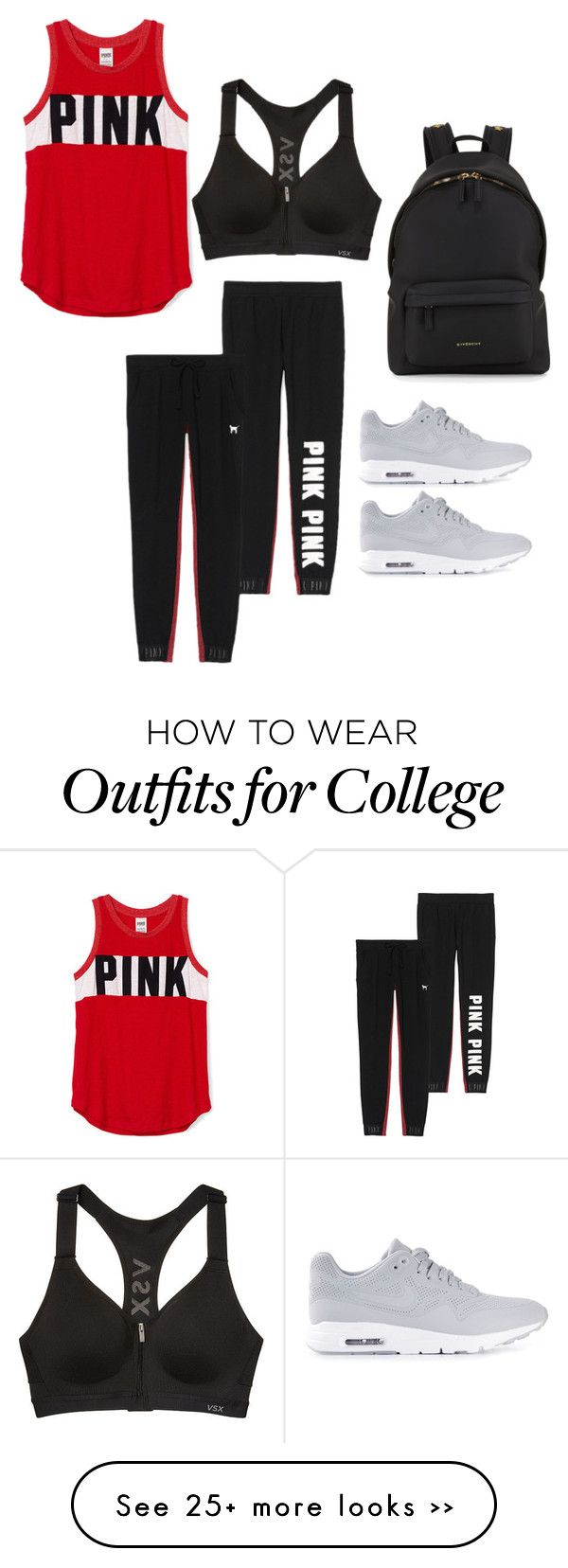 """""""Untitled #789"""" by crazybeautiful022 on Polyvore featuring Givenchy and NIKE"""