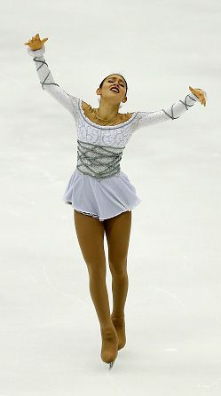 Kailani Craine of Australia, Ladies long program, ISU Four Continents 2016, Taipei City, Taiwan. (Romeo and Juliet (soundtrack) by Craig Armstrong)