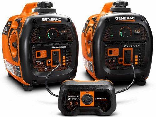 Generac 6719 IX 2000 Watt Portable Inverter Generator parallel gain more load on your home