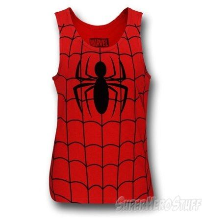 Images of Spiderman Costume Tank Top