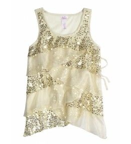 Justice Clothes for Girls Outlet | Girls Clothes | TIERED EMB BARE | Shop Justice