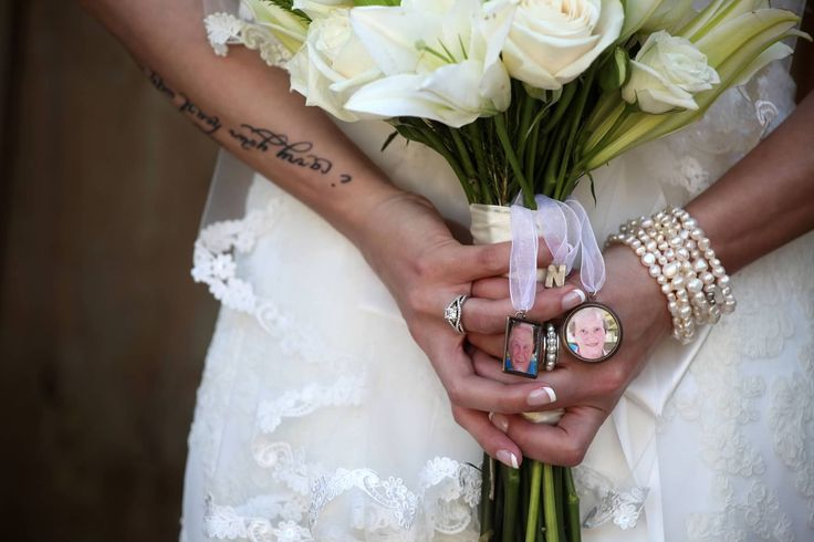 Wedding bouquet #memory #tattoo #grandparents  Photo Credit: Laurel Campbell Photography