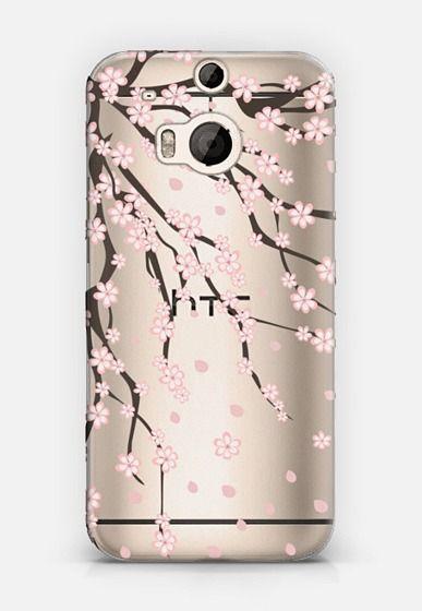 Sakura HTC One M8 case by Julia Badeeva | Casetify