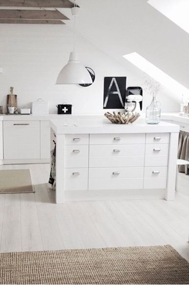 white decor chest of drawers woode3n beams neutral rug white pendant light  frames A