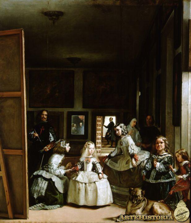 Las Meninas, La Familia de Felipe IV (Velazquez)