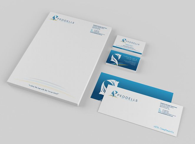 Peddells Stationery by Csquared Design #letterhead #businesscard