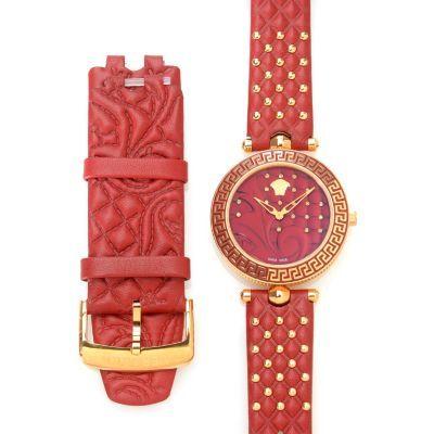 Versace Women's Vanitas Diamond Accented Swiss Made Quartz Watch w/ Two Straps