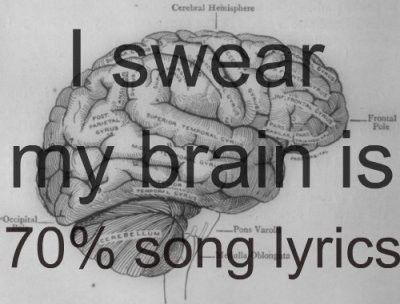 Yeah....so this is really how my brain works.