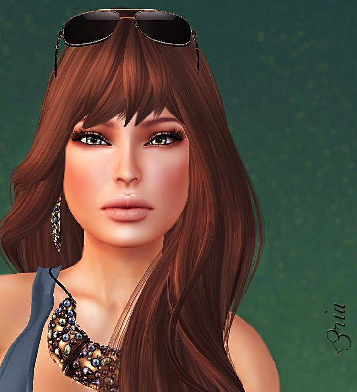 Portrait of me #SecondLife