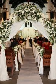 Image result for wedding flower arrangements for church