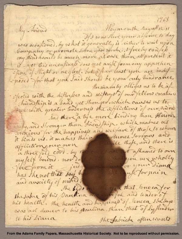 abigail adams short essay Wife or revolutionary: historiography of abigail adams andrew t daily  he  wrote this paper for dr bonnie  it is amazing in the short time since all of her.