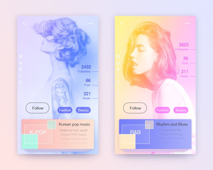 Music App on Behance