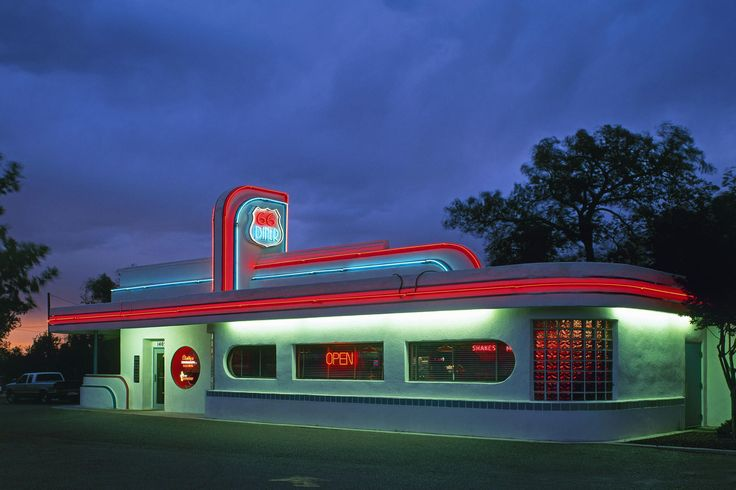 route 66 landmarks | Route 66 | Clio's Calendar: Daily Musings on Architectural History