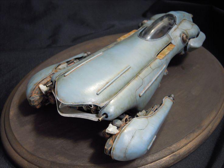 Great weathering   Futuristic Car Model